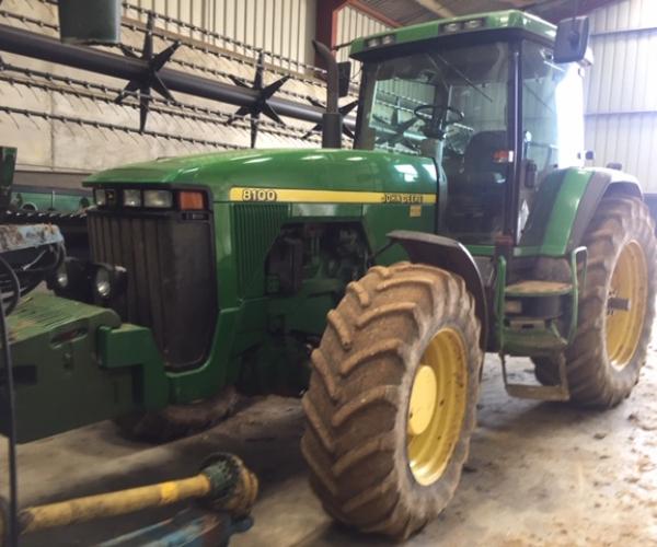 john deere 8100  gcb agricultural machinery